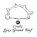 4 Empanada Criolla Spicy Ground Beef
