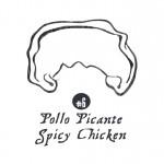 6 Empanada Pollo Picante Spicy Chicken